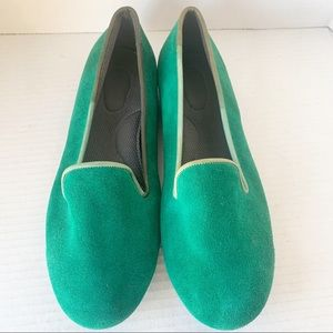 Privo by Clarks Green Flats Size 9